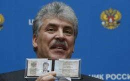 Đảng Cộng sản Nga đăng ký ứng cử viên thách thức ông Putin