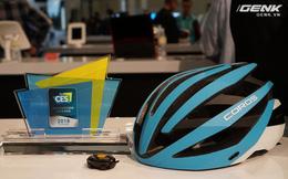 [CES 2018] Chiếc mũ bảo hiểm độc đáo này có thể giúp người dùng vừa đạp xe, vừa nghe nhạc mà không cần đến tai nghe