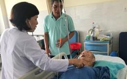 Ngoạn mục ca mổ cứu cụ ông 110 tuổi
