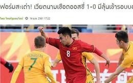 Báo Thái sốc, khen U23 Việt Nam là thể diện của ASEAN