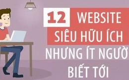12 website hữu ích khiến ai cũng phải thốt lên ước gì mình biết sớm hơn