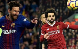 Cuộc đua 'Chiếc giày Vàng' châu Âu 2017/2018: Salah qua mặt Messi