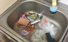 Kinh dị GÁI XINH Ở BẨN: Ăn xong vứt đồ thối um phòng còn chửi người khác không phụ dọn dẹp