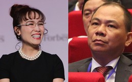 Ông Phạm Nhật Vượng, bà Nguyễn Thị Phương Thảo tăng hạng chóng mặt trong danh sách người giàu nhất thế giới