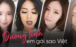 Đường tình duyên em gái sao Việt: Người chẳng hé một lời, người không ngại khoe hạnh phúc