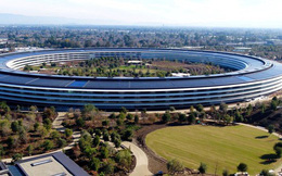 Những thước phim mới nhất quay từ drone cho thấy trụ sở Apple Park đã bước vào giai đoạn hoàn thiện cuối cùng