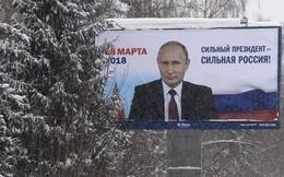 Ông Putin nắm chắc phần thắng trong cuộc bầu cử Tổng thống Nga 2018