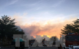 Bình Dương: Cháy bãi phế liệu kèm tiếng nổ lớn ở thị xã Thuận An