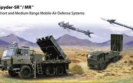Tầm bắn thực tế của tên lửa phòng không SPYDER-SR/MR lớn hơn nhiều so với dự kiến