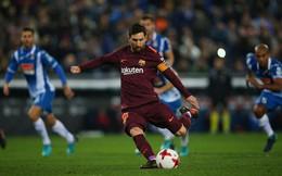 Messi đá hỏng penalty, Barcelona bất ngờ bại trận, mở lối thoát cho Real
