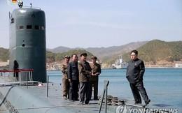 Bệ thử tên lửa phóng từ tàu ngầm Triều Tiên có dấu hiệu hoạt động