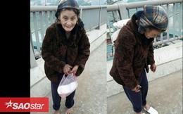 Cô gái mua tặng bà cụ xa lạ một đôi dép mới, dân mạng khen 'ấm lòng' những ngày cuối đông'