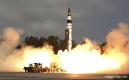 Ấn Độ bắn thử thành công tên lửa đạn đạo Agni-V