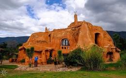 Bên trong căn nhà bằng đất sét đẹp nhất thế giới