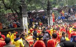 Bỏ tục lệ cướp lộc hoa tre ở Lễ hội đền Sóc 2018