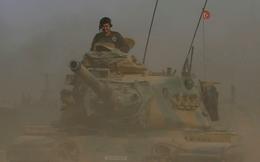 """Pháo, xe tăng Ankara ầm ầm tiến vào Afrin, Mỹ - Thổ - Nga """"căng như dây đàn"""""""