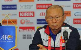 HLV Park Hang Seo khóc trong phòng họp báo