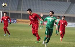 """U23 Việt Nam: Lãnh trọn cú """"đòn thù"""", chàng trai ấy vẫn khiến người Iraq phải run rẩy"""