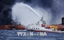 Trung Quốc phát hiện thêm các vệt dầu loang tại khu vực tàu Iran chìm