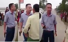 VIDEO: Lái xe rút súng doạ bắn người sau va chạm giao thông