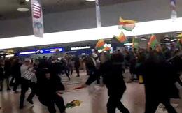 Xung đột leo thang, người Thổ Nhĩ Kỳ-Kurd hỗn chiến tại sân bay Đức