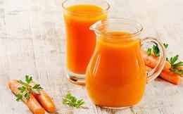 Uống nhiều nước ép cà rốt: Lợi hay hại?