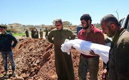 Tấn công hóa học ở Syria, Mỹ tố Nga che đậy đồng minh