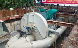 Chưa ứng được tiền thuê siêu máy bơm chống ngập cho đường Nguyễn Hữu Cảnh