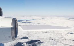 Bằng cách nào mà NASA tìm ra tảng băng vuông chằn chặn thế này?