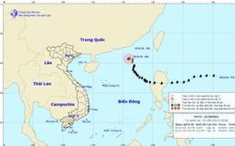 Áp thấp nhiệt đới đã suy yếu thành một vùng áp thấp và tan dần