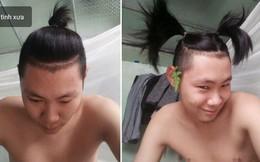 """Chuẩn bị cạo đầu đinh, thanh niên chế nguyên series meme hài với bộ tóc """"quý tộc"""" nuôi suốt 2 năm"""