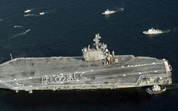 """Dàn chiến đấu cơ, tàu sân bay """"khủng"""" của Mỹ đổ xô về Nhật Bản làm gì?"""