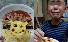 Nhìn thấy bữa sáng mẹ nấu thì bật khóc, cậu bé khiến mọi người xuýt xoa, khen lớn lên nhất định sẽ trở thành người đàn ông ấm áp nhất