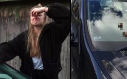 """Bị kẻ gian """"thả mìn"""" lên xe hơi 2 lần liên tiếp, thiếu nữ quyết định mang tang vật đi xét nghiệm ADN tìm thủ phạm"""