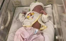 Bé gái vừa chào đời bị bỏ rơi ở khuôn viên bệnh viện