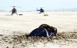Sự thật vật thể lạ nghi đĩa bay gặp nạn, lao xuống sa mạc Mỹ