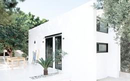 Chỉ một màu trắng tinh khôi nhưng không hề nhạt nhòa, ngôi nhà 26m² này đã làm được điều đó một cách hoàn hảo