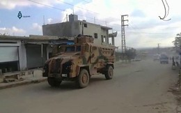 Đoàn xe quân sự Thổ Nhĩ Kỳ rầm rập tiến vào Idlib, 22 phiến quân Syria bị hạ gục