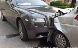 Shipper đâm hỏng xe Rolls-Royce do mải nhìn điện thoại, thiệt hại lên đến hơn 3 tỷ đồng