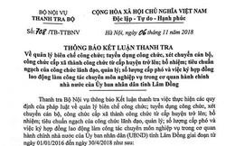 110 công chức ở Lâm Đồng chưa đủ tiêu chuẩn chức danh lãnh đạo