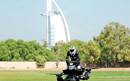 Cảnh sát Dubai sắp được trang bị mô tô bay giống hệt trong phim viễn tưởng