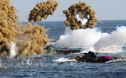 """Mặc Triều Tiên """"nóng mặt"""", Hàn Quốc vẫn quyết tập trận chung trên biển với Mỹ"""