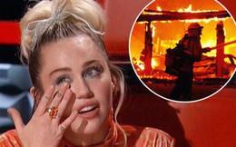 Miley Cyrus đau lòng xác nhận cũng đã mất nhà như các đồng nghiệp trong vụ cháy lớn ở California