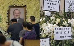 Tang lễ nhà văn Kim Dung: Lưu Đức Hoa, Huỳnh Hiểu Minh cùng dàn nghệ sĩ gửi vòng hoa trắng