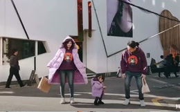 Gia đình nổi tiếng MXH: Ăn mặc chất từ bố mẹ đến con cái, cứ đi cùng nhau là diễn sâu vô đối