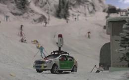 Google chế tạo xe Street View thu nhỏ, giúp chúng ta tham quan bên trong mô hình lớn nhất thế giới