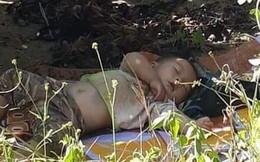 """Hình ảnh cậu bé bụ bẫm nằm ngủ dưới gốc cây cà phê khi theo bố mẹ lên rẫy """"đốn tim"""" cộng đồng mạng vì quá sức dễ thương"""
