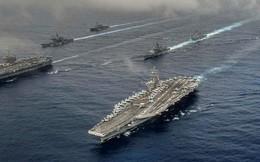 Hai tàu sân bay Mỹ phô diễn sức mạnh ở vùng biển Philippines