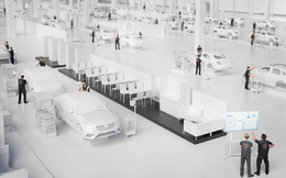 Nhà máy Mercedes-Benz hiện đại nhất thế giới mới nhìn như từ phim viễn tưởng mà ra