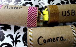 11 công dụng bất ngờ của lõi giấy vệ sinh